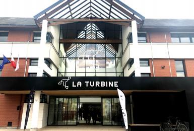 L'incubateur La Turbine cofinancé par l'UE et la Région