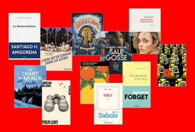 Prix littéraire 2020-2021 couvertures