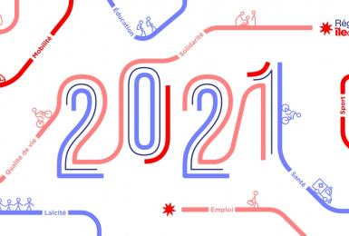 La Région Île-de-France vous présente ses vœux les plus chaleureux pour 2021