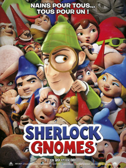 film d'animation Sherlock Gnomes