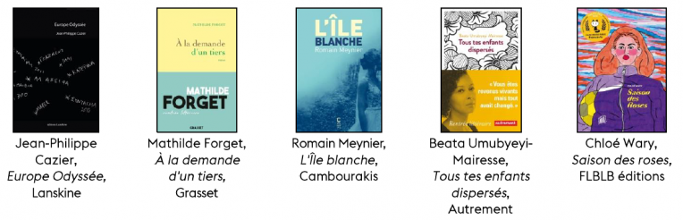 livres prix littéraire 2020 Essonne