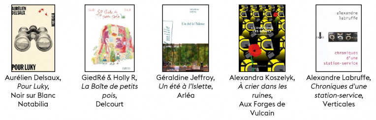 livres prix littéraire 2020 Val d'Oise