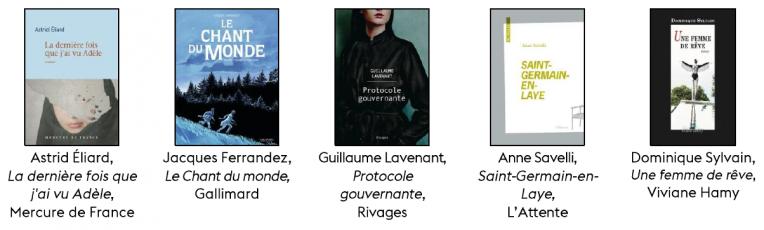 livres prix littéraire 2020 Yvelines