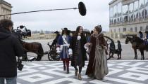 Tournage de la série TV Versailles